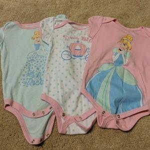 6/9 month Disney onesies